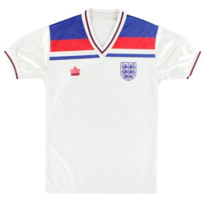 1980-83 England Admiral Home Shirt S