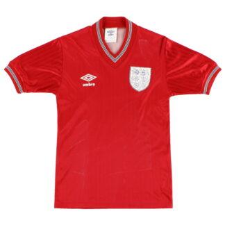 1984-87 England Away Shirt Y