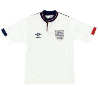 1987-90 England Home Shirt L.Boys
