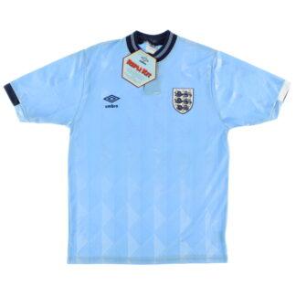 1987-90 England Third Shirt *BNIB* M