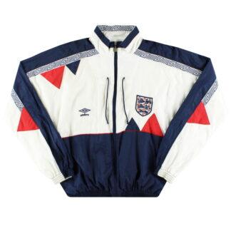 1990-92 England Umbro Shell Jacket Y