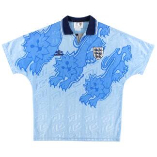 1992-93 England Third Shirt S.Boys