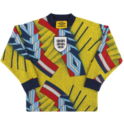 1994-95 England Umbro Goalkeeper Shirt Y
