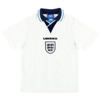1995-97 England Umbro Home Shirt XL