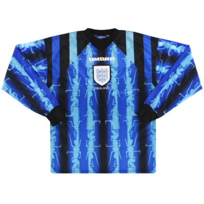 1997-98 England Umbro Goalkeeper Shirt Y