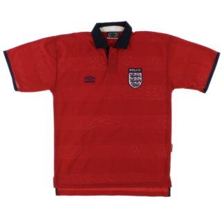 1999-01 England Umbro Away Shirt L