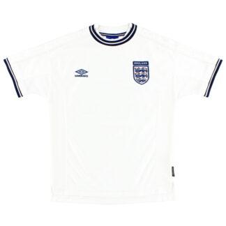 1999-01 England Umbro Home Shirt XL