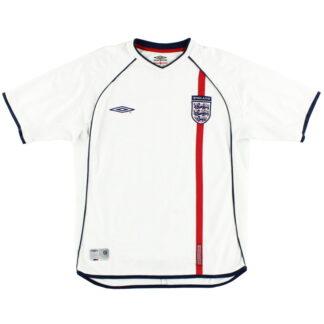 2001-03 England Home Shirt XL