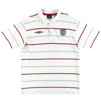 2002-03 England Umbro Polo Shirt XL