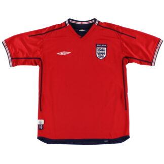2002-04 England Umbro Away Shirt XL