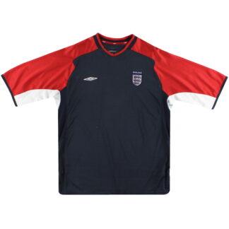 2004-05 England Umbro Training Shirt L