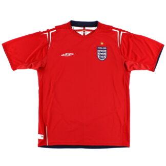 2004-06 England Away Shirt XL