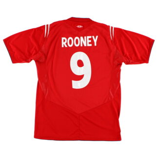2004-06 England Umbro Away Shirt Rooney #9 M