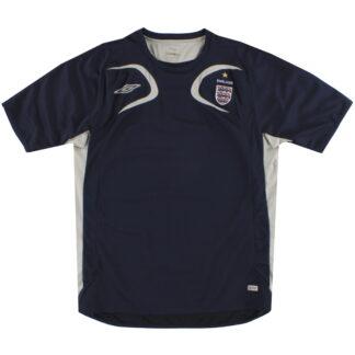 2006-07 England Umbro Training Shirt L