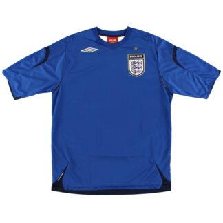 2007-09 England Goalkeeper Shirt L