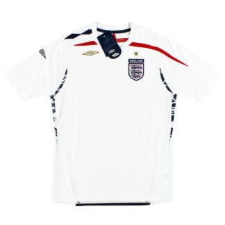 2007-09 England Umbro Home Shirt *BNIB* M.Boys