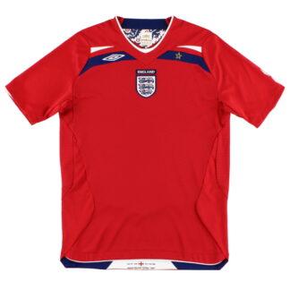 2008-10 England Away Shirt *Mint* XL.Boys
