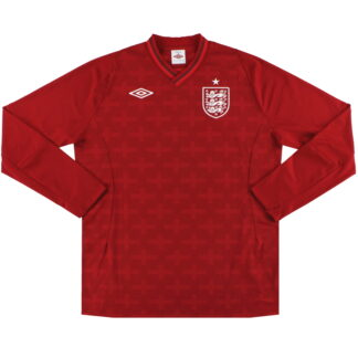 2012-13 England Umbro Goalkeeper Shirt L/S L
