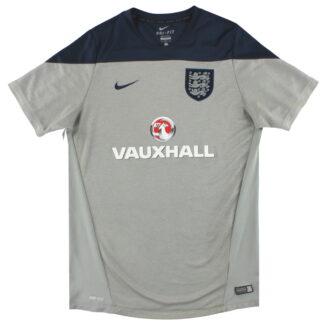 2014-15 England Nike Pre-Match Training Shirt L