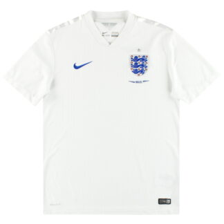 2014 England Nike 'Brazil' Home Shirt M