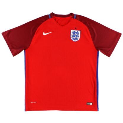 2016-17 England Nike Away Shirt *Mint* S