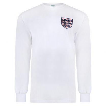 England 1966 World Cup No6 Retro Shirt