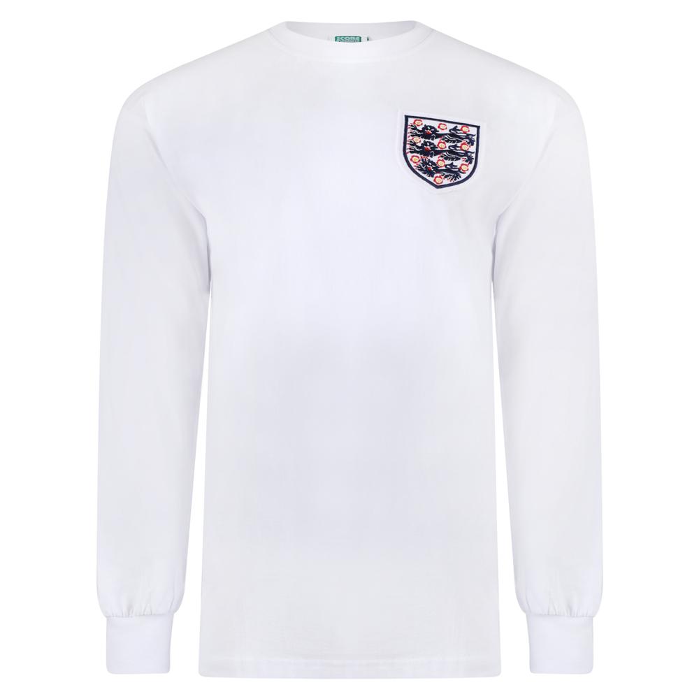 low priced 7f1a2 bde7d England 1966 World Cup No6 Retro Shirt