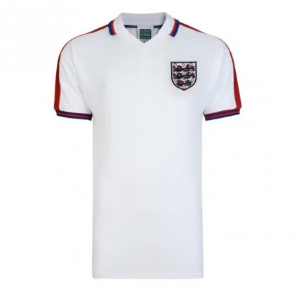 England 1976 Retro Football Shirt