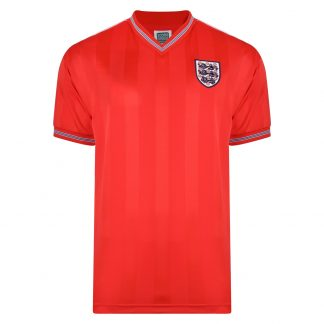 England 1986 Away Retro Football shirt