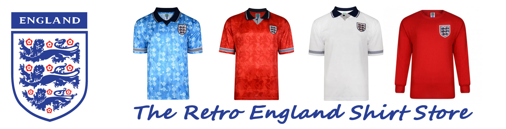 Retro England Shirts