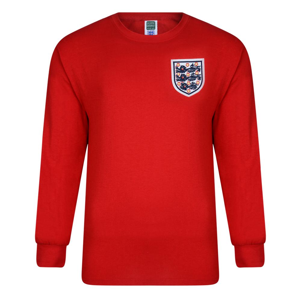 15fbdf03787 England 1966 World Cup Final Away Retro Shirt - Retro England Shirts