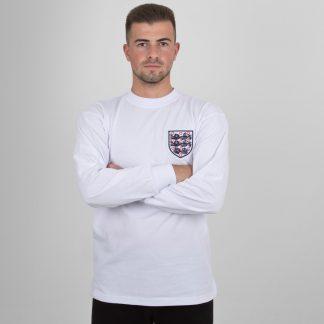England 1966 Home World Cup Finals No 6 Retro Football Shirt