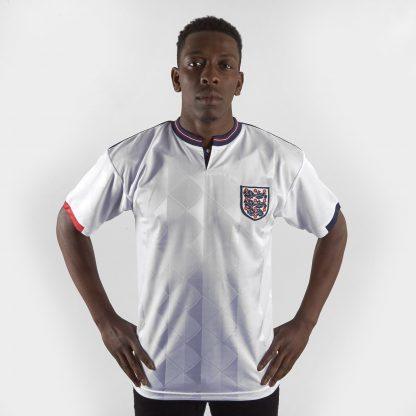 England 1989 Home S/S Retro Football Shirt