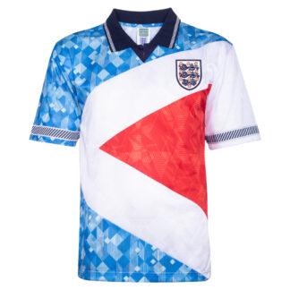 England 1990 Mash Up Retro Football Shirt