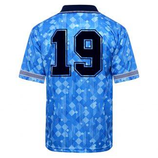 England 1990 World Cup Finals Third No19 Shirt