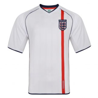 England 2002 Retro Football shirt