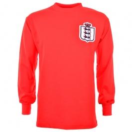 England L/S Retro Football Shirt Red