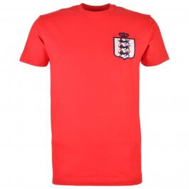 England Limited Edition Retro T-Shirt Red