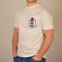 England White Retro Football Shirt